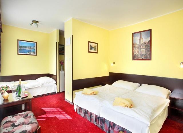 Hotel v Hluboké nad Vltavou