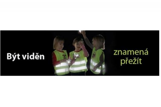 Opatřete dětem reflexní vesty