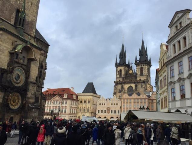 Cestování - návštěva Prahy