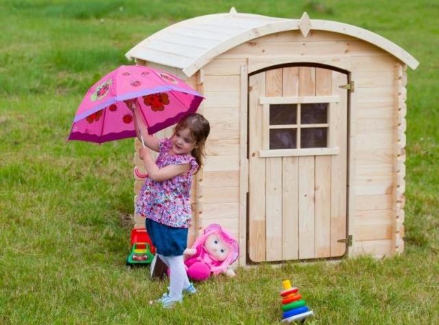 Zahradní domky, dětské domečky