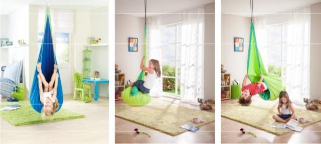 Co by nemělo chybět v dětském pokoji? Houpací vak!