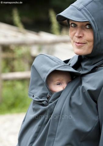 Praktické oblečení na nošení dětí