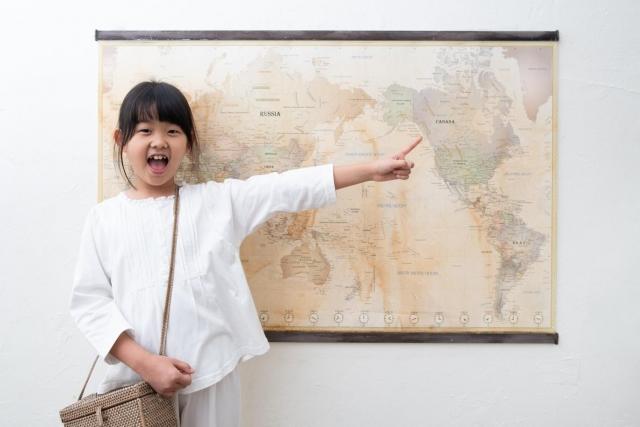 Vybavte dětský pokoj pěknou mapou