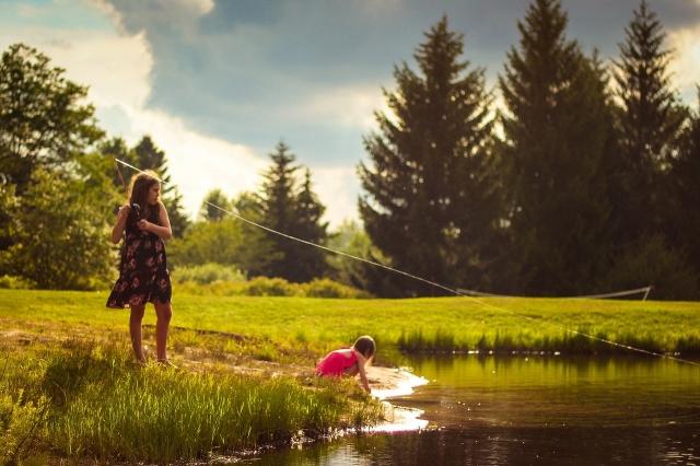 Jak si užít rybaření s dětmi?