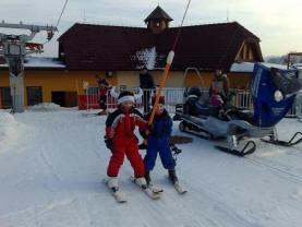 Ski areál Olešnice na Moravě
